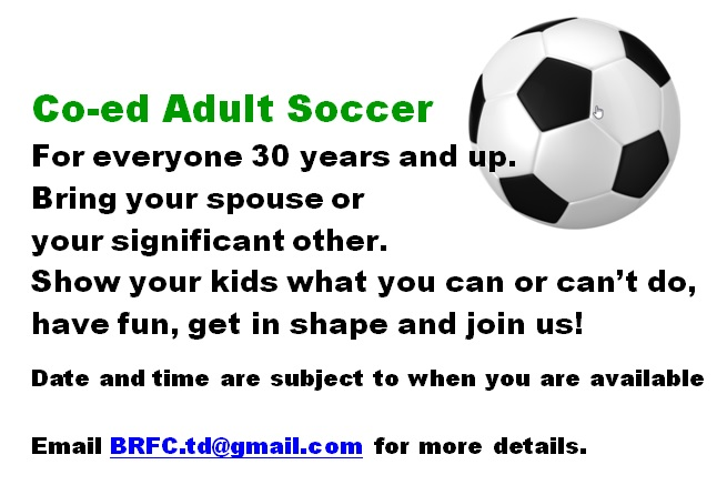 coed adult soccer